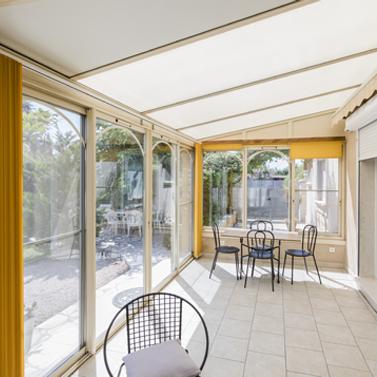 menuiserie alu veranda